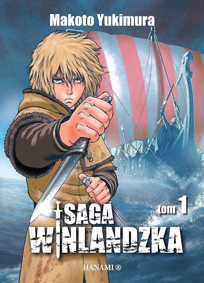Makoto Yukimura, Saga Winlandzka, tom 1, okładka